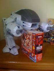 ED-209 Robocop big papercraft by RoronoaZoro666