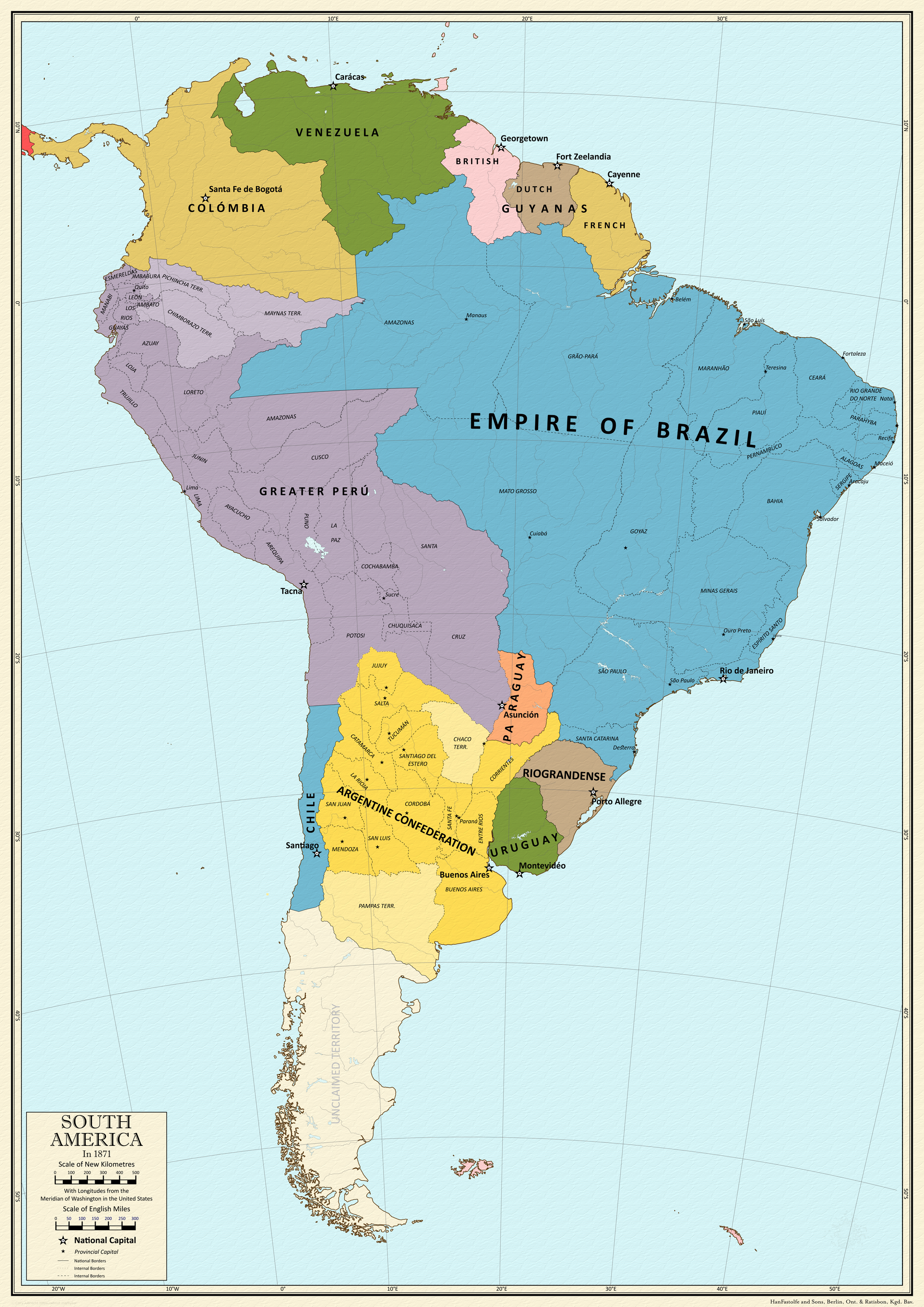 Balance of Power - 1871 - South America by CoryCA