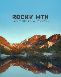 Lake Haiyaya in Rocky Mountain Nat. Park by cosamo