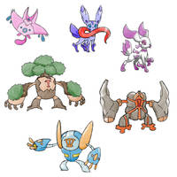 Upcoming Fakemon 4 by Marix20