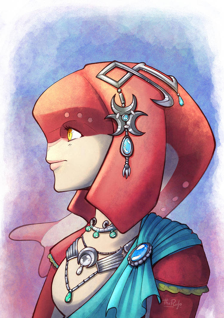 Mipha - Zelda Breath of the Wild by TheRufo