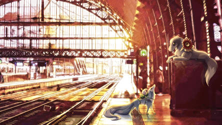 Friendship at the station - TWWM by TheRufo