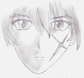 Rurouni Kenshin Scetch by TheComplex