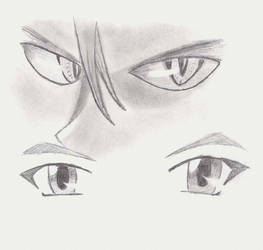 Eyes Sketch by TheComplex