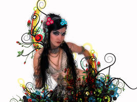 Bellydance-tribal fusion by Black-eyes27
