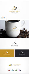 Royal Bird Logo Template by nasirktk