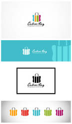 Ladies Bag Logo Template by nasirktk
