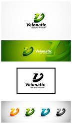 V Logo Template by nasirktk