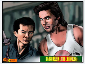 Big Trouble in Little China by Punch-line-designs