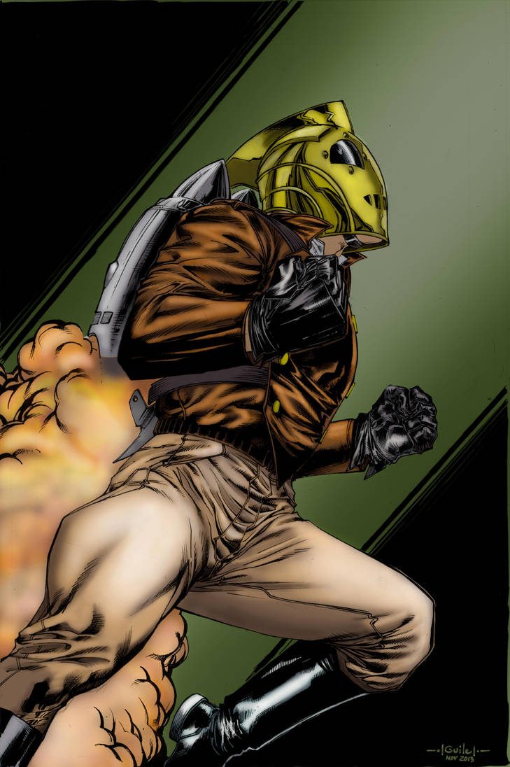 Rocketeer By Spiderguile by Punch-line-designs