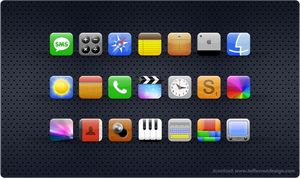 Lush: iPhone Theme by ToffeeNut
