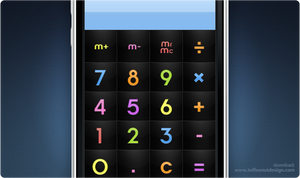 iPhone: ChocoMilk Calculator by ToffeeNut