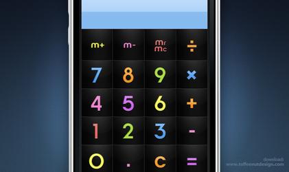 iPhone: ChocoMilk Calculator by ToffeeNut