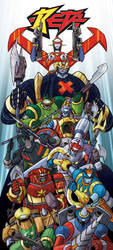 Beta SuperRobots Totem Colored by ELLeGGi