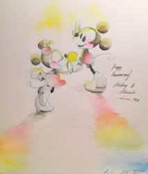 Happy 90th Anniversary by umineko3234