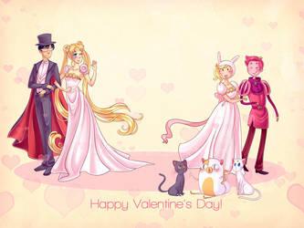 Valentines! by TealSeaArt