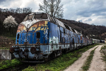 Rusty train (JZT 2.1 Print version) by MilanNikolaPetrovic