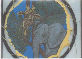 African Animals by Destarte