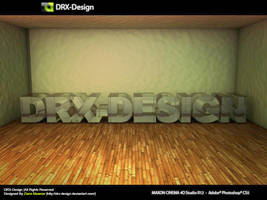 DRX-Design 3D Text Glass by DRX-Design