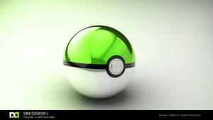 Green Pokeball by DRX-Design