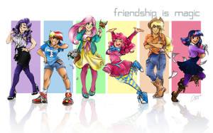 FRIENDS by DDhew