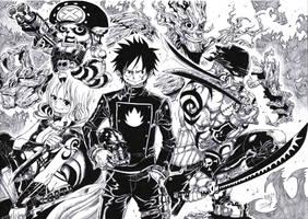 Guardians Of The Galaxy/One Piece by Jigmetenzin