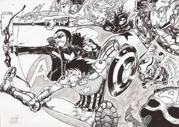 Avengers/One Piece by Jigmetenzin