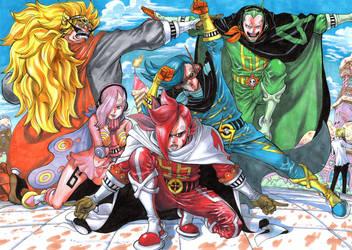 One Piece- The Vinsmokes by Jigmetenzin