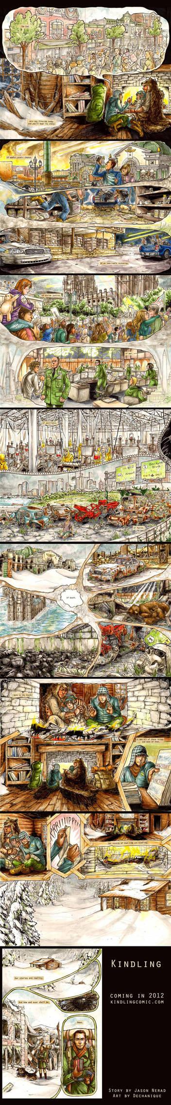 Kindling Prologue: Pages 1 - 15 by DeannaEchanique