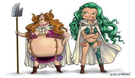The Gorgon Sisters by DeannaEchanique