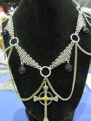 Elegant Cross Necklace by BradsCC