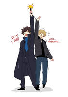 John Watson is too short by WXYZell