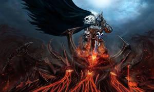 Lich King Killing Diablo by buynsanjaa