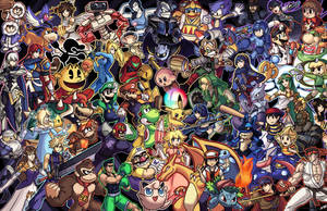 Super Smash bros. Compilation by Smearg