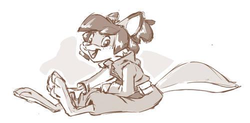 Stream doodles - Natalie! by yoshitura