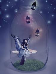 Fairy Jar by Misa-Rena