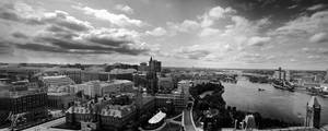 View from the Peace Tower by Gibbich