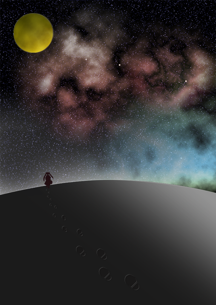 Starry sky by hfreenote