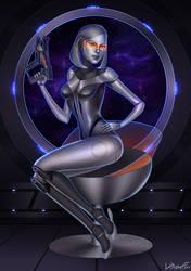 EDI - Mass Effect by cynellis