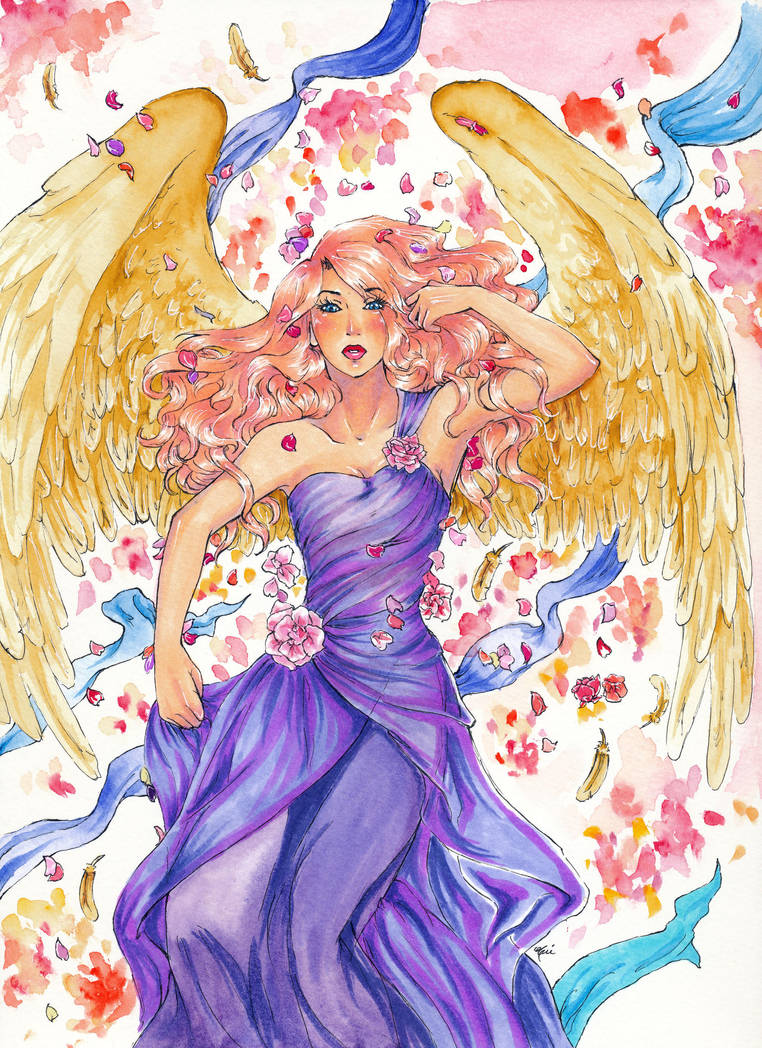 Gabriele - Rose Petals by artisteri