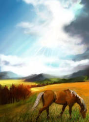 painted on iphone 1 by anastasky