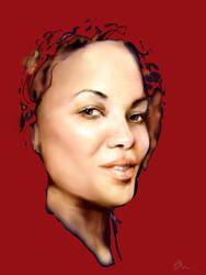 portrait of my friend by anastasky