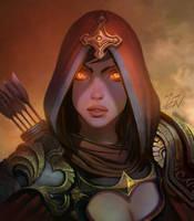 Demon hunter by Zendanaar