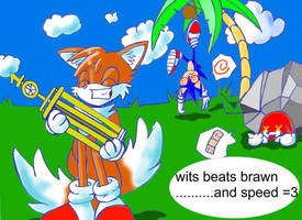 Tails' Wits by jmynstyx