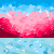 Beach sunset pixel by FirestarRules123