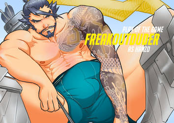 Let the Dragon Consume You (Overwatch - Hanzo) by freakoutduder