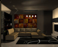 my first living room 1 by LostInDreamworld