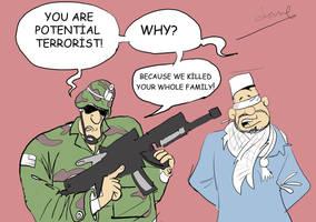 potential terrorist by ademmm