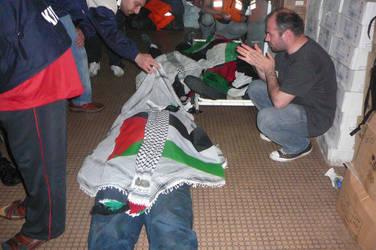 Flotilla killed aid volunteer by ademmm