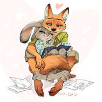 Judy and Nick ) by LayLoL